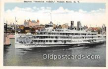 shi045372 - Steamer Hendrick Hudson Hudson River, NY USA Ship Postcard Post Card