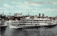shi045373 - Steamer Hendrick Hudson Albany, NY USA Ship Postcard Post Card