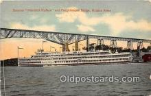 shi045374 - Steamer Hendrick Hudson Hudson River, NY USA Ship Postcard Post Card
