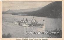 shi045377 - Steamer Hendrick Hudson Bear Mountain, NY USA Ship Postcard Post Card