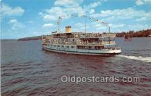 shi045389 - MV Mt Washington Lake Winnipesaukee, NH Ship Postcard Post Card