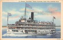 shi045403 - Steamer Put In Bay Cedar Point Ship Postcard Post Card