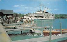 shi045412 - MV Mt Washington Lake Winnipesaukee, NH USA Ship Postcard Post Card
