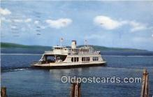 shi045423 - MV Adirondack North America Ship Postcard Post Card