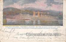 shi045425 - New Steamer Hendrick Hudson Hudson River Day Line Ship Postcard Post Card
