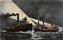shi045436 - Lake Erie  Ship Postcard Post Card