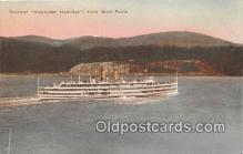 shi045446 - Steamer Alexander Hamilton West Point Ship Postcard Post Card