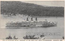 shi045447 - Washington Irving Poughkeepsie Ship Postcard Post Card