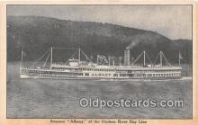 shi045451 - Steamer Albany Hudson River Day Line Ship Postcard Post Card