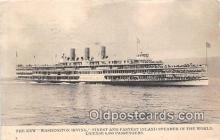 shi045454 - New Washington Irving  Ship Postcard Post Card
