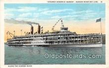 shi045456 - Steamer Hendrick Hudson Hudson River Day Line Ship Postcard Post Card