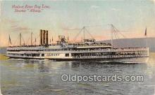 shi045458 - Hudson River Day Line Steamer Steamer Albany Ship Postcard Post Card