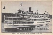 shi045462 - Steamer Peter Stuyvesant Hudson River Day Line Ship Postcard Post Card