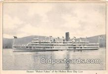 shi045464 - Steamer Robert Fulton Hudson River Day Line Ship Postcard Post Card