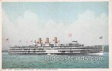 shi045466 - Str Washington Irving Hudson River Ship Postcard Post Card