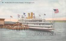 shi045468 - Hudson River Excursion Steamer Newburgh, NY Ship Postcard Post Card