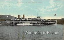 shi045469 - Albany Day Line Boat Hendrick Hudson Ship Postcard Post Card