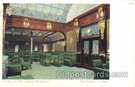 shi050003 - Kaiser Wilhelm, II Rauchsalon I Ship Ships, Interiors, Postcard Postcards