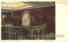 shi050008 - Kaiserin Auguste Victoria,Treppenaufgang Ship Ships, Interiors, Postcard Postcards