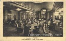 shi050023 - Paris, Grand Salon des I, lounge Ship Ships, Interiors, Postcard Postcards