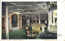 shi050028 - Kaiser Wilhelm II, Gessellschaftszimmer Ship Ships, Interiors, Postcard Postcards