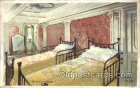 shi050032 - R.M.S.P. Avon Ship Ships, Interiors, Postcard Postcards