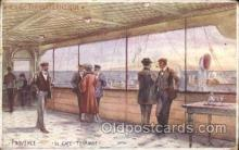 shi050033 - Provence, Le Caf? Terrasse Ship Ships, Interiors, Postcard Postcards