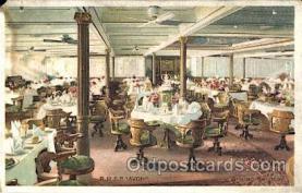 shi050036 - R.M.S.P. Avon Ship Ships, Interiors, Postcard Postcards