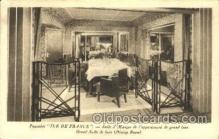 shi050049 - Ile de france,Salle a Manger de l' appartement Ship Ships, Interiors, Postcard Postcards