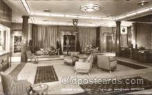 shi050061 - Empress of Scotland, first class promenade Entrance Ship Ships, Interiors, Postcard Postcards