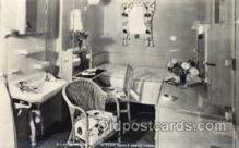 shi050068 - P.&O. Himalaya, first class single Berth cabin Ship Ships, Interiors, Postcard Postcards