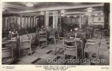 shi050076 - Queen Elizabeth, Tourist winter garden Ship Ships, Interiors, Postcard Postcards