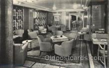 shi050083 - P.&O. Himalaya, the australia room Ship Ships, Interiors, Postcard Postcards