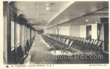 shi050108 - Ile De France French Line, Ship Postcard Postcards