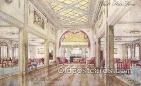 shi050139 - MV Britannic, White Star line White Star Line, Ship Postcard Postcards