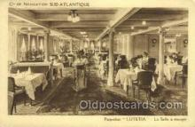 shi050158 - SS Lutetia Ship Postcard Postcards