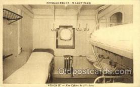 shi050168 - Athos II Ship Postcard Postcards