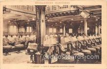 shi050174 - Lotus Salle a Manger Des Premieres Classes Ship Postcard Post Card