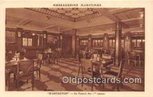 shi050208 - D'Artagnan, Le Fumoir Des 1 Classes Messageries Maritimes Ship Postcard Post Card