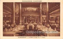 shi050214 - D'Artagnan, La Salle A Manger Des 1 Classes Messageries Maritimes Ship Postcard Post Card