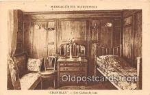 shi050241 - Chantilly, Une Cabine De Luxe Messageries Maritimes Ship Postcard Post Card