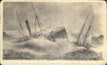 shi051003 - Alberta NJ,USA Ship Wrecks, Ships Postcard Postcards