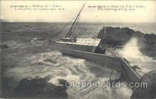shi051005 - Saint-Malo Ship Wrecks, Ships Postcard Postcards