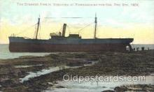 shi051009 - The Steamer Anglia Ship Wrecks, Ships Postcard Postcards