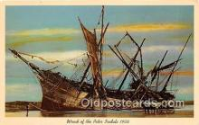 shi051030 - Wreck of the Peter Iredale 1906 Oregon Ship Postcard Post Card