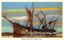 shi051039 - Wreck of the Peter Iredale 1906 Oregon Ship Postcard Post Card