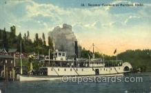 shi052002 - Steamer Harrison at Harrison,Idaho,USA Ferry Boat Boats, Ship Ships Postcard Postcards