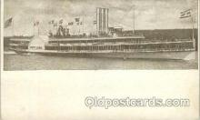 shi052006 - Hudson River Day line Ferry Boat Boats, Ship Ships Postcard Postcards