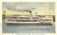 shi052029 - Le Travesier Louis Joliet, Quebec, Canada Ferry Ship Postcard Post Card