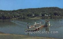 shi052030 - Ohio River Ferry Boat, Fly, Ohio, OH USA Ferry Ship Postcard Post Card